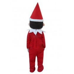 Christmas Elf On The Shelf Mascot Costume