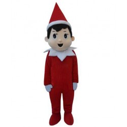 Elf On The Shelf Mascot Costumes for Adult