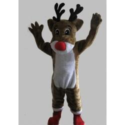 Rudolph Reindeer Mascot Costume