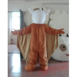 Brown Big Bird Mascot Costume