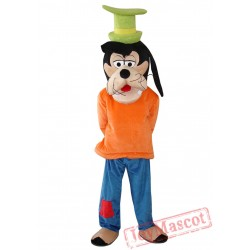 Goofy Dog Mascot Costume for Adult