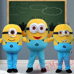 Despicable Minions Mascot Costumes for Adult
