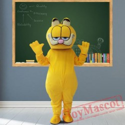 Garfield Cat Mascot Costumes for Adult