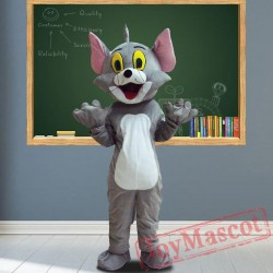 Tom Cat Jerry Mouse Mascot Costumes for Adult