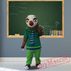 Crazy Animal City Fox Rabbit Sloth Mascot Costumes for Adult
