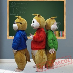 Chipmunk Mascot Costumes for Adult