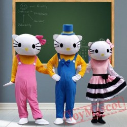 Kt Cat Mascot Costumes for Adult
