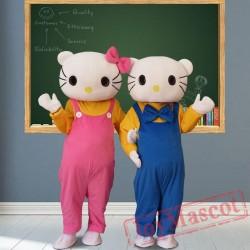 Kt Cat Mascot Costumes for Adult
