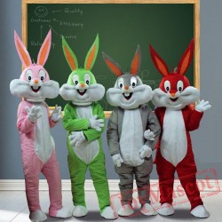Bugs Bunny Mascot Costumes for Adult