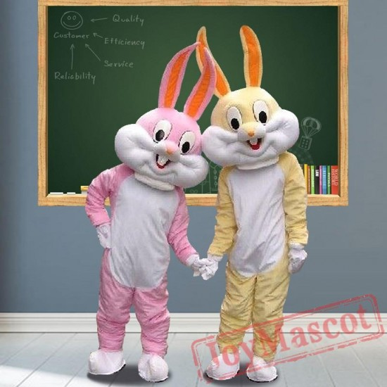 Rabbit Bunny Easter Mascot Costumes for Adult