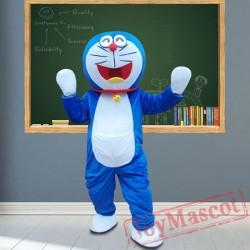 Robot Cat Mascot Costumes for Adult
