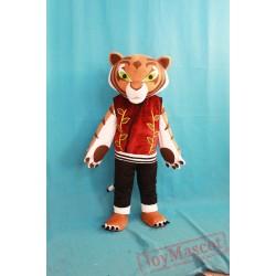 High Quality Tigress Tiger Mascot Costume Kung Fu Panda