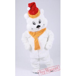 Polar Bear Mascot Costume for Adult