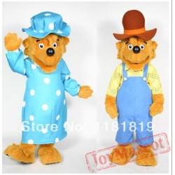 Bear Parents Mascot Costume