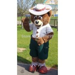 Buddy Bear Crealy Park In Devon Mascot Costume