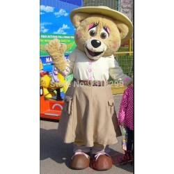 Bessie Bear Crealy Park In Devon Mascot Costume