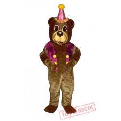 Bear Adult Mascot Costume