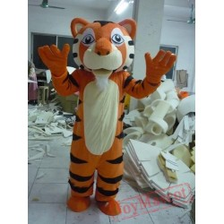 Funny Tiger Adult Animal Mascot Costume