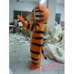 Funny Tiger Adult Animal Mascot Costume