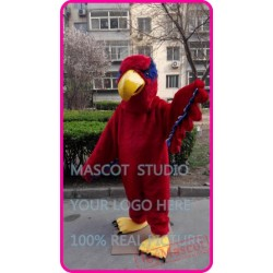 Red Hawk Eagle Mascot Costume
