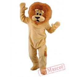 Brown Lion Mascot Costumes for Adult