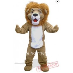Lion The Forest Mascot Costume