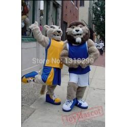 University Lions Mascot Costume