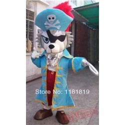 Lion Pirate Sea Rover Mascot Costume