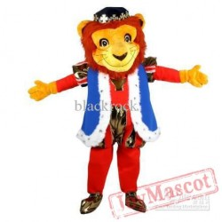 Adult Lion Prince Mascot Costume