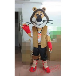 Animal Mascot Costume Cartoon Lion