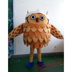 Bird Cartoon Owl Mascot Costume