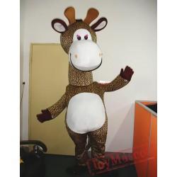 Animal Cartoon Giraffe Mascot Costume