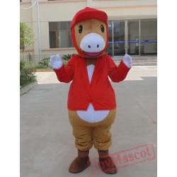 Animal Cartoon Little Horse Mascot Costume