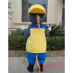 Animal Cartoon Little Donkey Mascot Costume