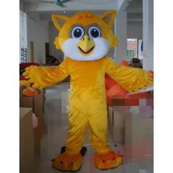 Animal Cartoon Plush Owl Mascot Costume