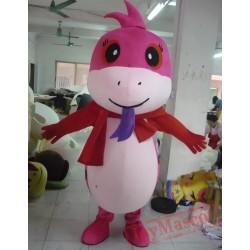 Animal Cartoon Plush Snake Baby Mascot Costume