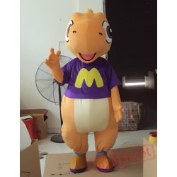 Animal Cartoon Dinosaur Mascot Costume