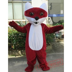 Animal Cartoon Red Fox Mascot Costume
