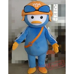 Cartoon Penguin Mascot Costume