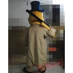 American West Cartoon Cosplay Mayor Mascot Costume
