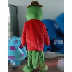 Animal Cartoon Croco Mascot Costume