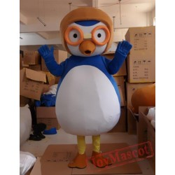 Cartoon Animal Glasses Penguin Mascot Costume