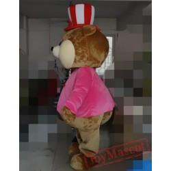 Animal Cartoon Hat Bear Mascot Costume