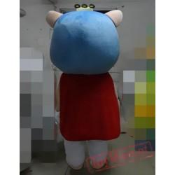 Animal Cartoon Cosplay Tommy Bear Mascot Costume