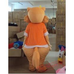Animal Cartoon Cosplay Squirrel Mascot Costume