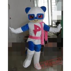Animal Cartoon Plush Panda Super Panda Mascot Costume