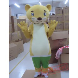 Animal Cartoon Cosplay Weasel Mascot Costume