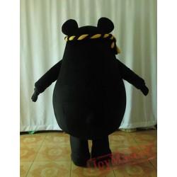Animal Cartoon Black Bear Mascot Costume