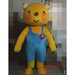 Animal Cartoon Bear Mascot Costume
