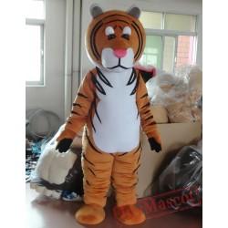 Animal Cartoon Amur Tiger Mascot Costume